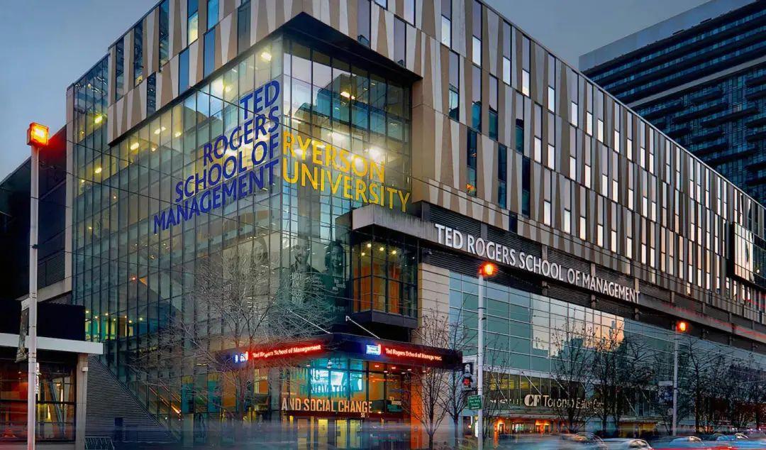 这所安省名校你绝对不能错过!位于黄金地段多伦多市中心的瑞尔森大学